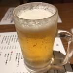 べろ助 - 生ビール