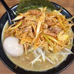 百麺 - ネギらーめん (半熟味玉トッピング)