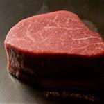 神楽坂 鉄板焼 中むら - 料理写真:川岸牧場産神戸牛シャトーブリアン