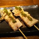 魚魚ダイニング - 地鶏のむね肉 @250円×2