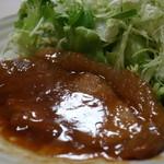 割烹 なか川 - 豚肉西京味噌仕立て焼きアップ