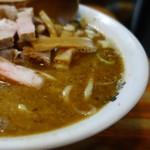 麺 高はし - 乱切りちゃあしゅう麺 肉小 「スープが堪らなく旨い」といつも思っています