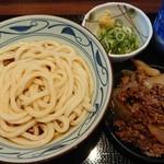 丸亀製麺 - 牛山盛り冷やしぶっかけ(大)