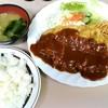 フジランチ - 料理写真:デミグラスチキンカツ定食 850円