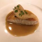 オルディヴェール - 真鯛のポワレ アップ