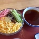 八幡食堂 - ひとくちそうめん200円税抜