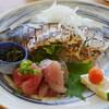 松輪 - 料理写真:松輪とろサバ炙りたて
