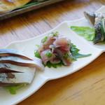 松輪 - 小皿しめサバ