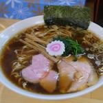 らぁ麺 はんにゃ - 料理写真:醤油ラーメン大盛り