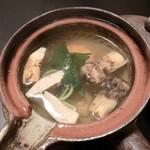 四季酒菜庵 魚徳 - ◆松茸の土瓶蒸し