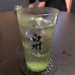 四季酒菜庵 魚徳 - 白州のハイボール