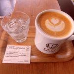NOZY COFFEE - こんな形でサーブ