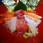 北の味紀行と地酒 北海道 - 海鮮丼