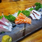 小江戸 - 料理写真:刺身4点盛り980円