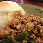 Monsoon Cafe - 鶏肉のガパオ炒めゴハン