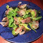 ブレカフェ・ブラッセリィ - 本日のおすすめ鮮魚のカルパッチョ(鯛)