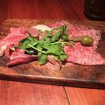 ブレカフェ・ブラッセリィ - イタリア産生ハムの盛り合わせ