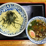 のぞみ - 料理写真:醤油つけめん … 750円