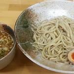 麺屋 楓華 - 料理写真:【つけ麺 並盛 + 煮玉子】¥750 + ¥100