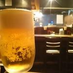 駒沢 ひろの亭 - 大好きなルービーで(●^o^●)