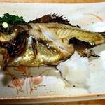 福の家 - 本日の焼き魚(めばる)
