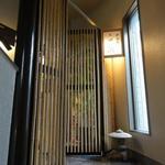 ちゃんこ 黒潮 - ②特別室への階段