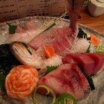 9165736 - 魚家の刺身5種盛り 1480円