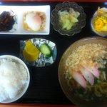 麺処 十 - 日替わりうどん定食。