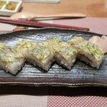 小田原おでん本店 - ・鯵の押し寿司 4カン 620円