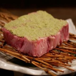 【清次郎1番人気】特選ロースわさび焼き&極上ハラミ&フィレ肉