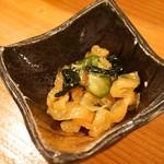魚寿司 - お通し