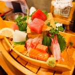 魚寿司 - お刺身7点盛り