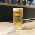 焼肉屋 よざくら - 生ビール
