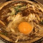 91656771 - 濃厚な八丁味噌を使ったスープです。