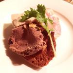 神戸パリ食堂 - レバーペースト、ミートローフ