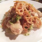 神戸パリ食堂 - 鶏肉のクリーム煮