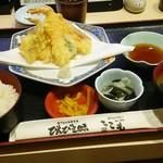 91657228 - 天ぷら定食570円