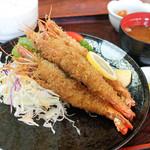 ちちや - 海老フライ定食