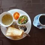 cafe しずく - 料理写真:ホットサンド