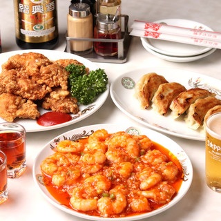 【お得】×【大満足】な中華料理満載のコース!2,500円~★