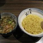 麺屋 利休 - 麺屋 利休:つけ麺 あつもり(中盛り)