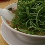 来来亭 - 料理写真:葱ラーメン