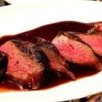 熟成肉の和牛ステーキ
