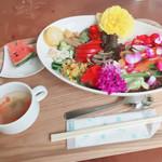 ボタニカルショップ&ファーマーズカフェ カーガ - 料理写真: