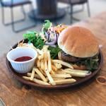 Calms cafe&diner - ハンバーガープレート