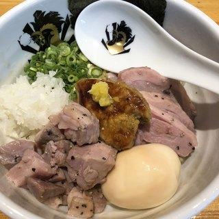 中華そば 満鶏軒 - 料理写真:特製フォアグラ油そば