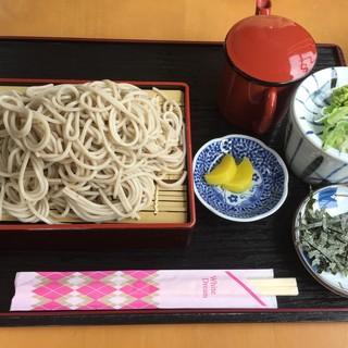咲来 - 料理写真:ざるそば