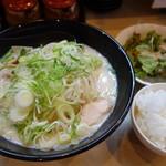 かみなり家 - 野菜ラーメン+セット