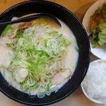 かみなり家 - 野菜ラーメン