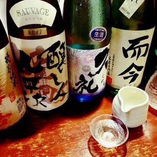 全国各地の旨い日本酒を取り扱っています。